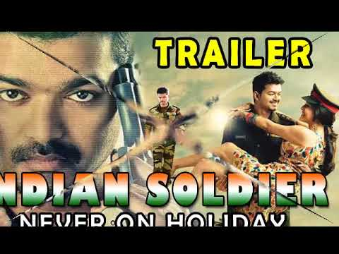 Vijay  Thupakki Dubbed in Hindi as Indian Soldier Never on Holiday  First Look Exclusive Video