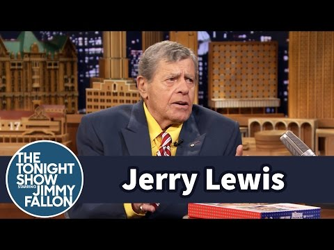 Jerry Lewis and Jimmy Chat Using Instruments