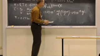 Lec 24 | MIT 5.60 Thermodynamics&Kinetics, Spring 2008