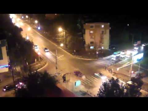Авария в Астрахани