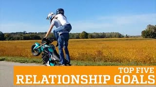 TOP FIVE RELATIONSHIP GOALS! | PEOPLE ARE AWESOME, clip giai tri, giai tri tong hop