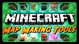 Minecraft Mod Review: MAP MAKING TOOLS! (Custom Player Heads, Super Potions&More)