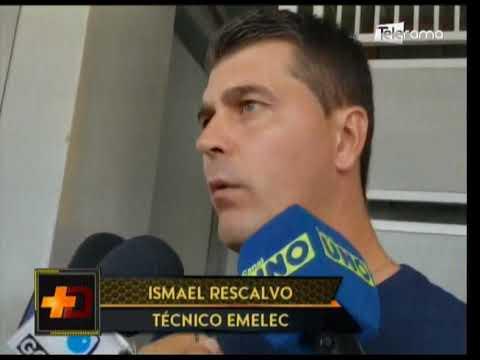 Emelec volvió a las prácticas luego del triunfo sobre Fuerza Amarilla