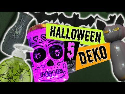 5 Halloween Deko selber machen deutsch | Zimmer dekorieren, Party Dekoration | Tipps DIY Inspiration
