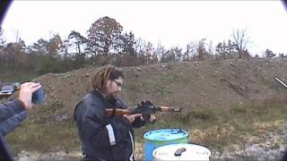 on the first really bad day of the year 6 of us made it out to the multi gun shoot at the local range. here are a few of the runs by some of the shooters.