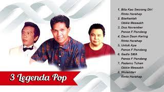 3 Legenda Pop Obbie Messakh, Pance Pondang, dan Rinto Harahap