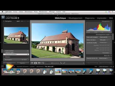Watch 'Adobe Lightroom 3 : Présentation générale des modules et des panneaux'