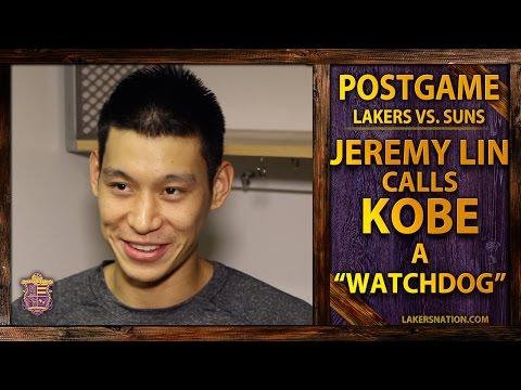 Video: Lakers vs. Suns: Jeremy Lin On Why Kobe Bryant's A 'Watchdog'