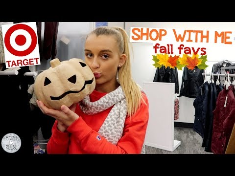 TARGET SHOP WITH ME! FALL FAVORITES!