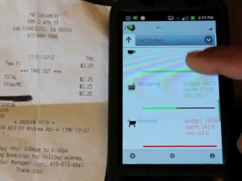Video of Scan Receipts & Track Expenses