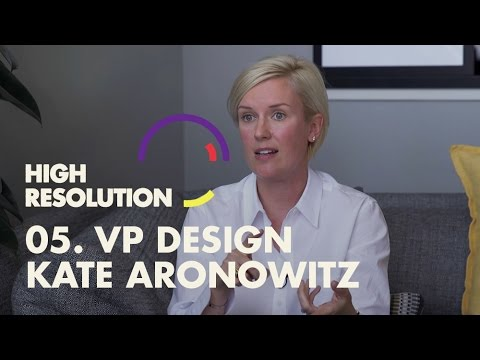 High Resolution: Kate Aronowitz, vice president of design at Wealthfront
