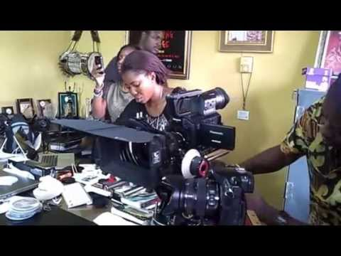 Rare Unedited Raw Video: Dazzling Mirage Screen Test with Lala and Tunde Kelani
