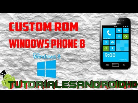 Tutorial WP8 ROM Estilo Windows Phone 8 para Galaxy Ace s5830i (Custom ROM) (Nivel Difícil)