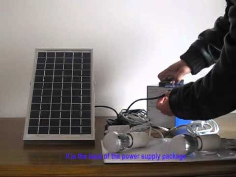 low cost solar lighting system by Sofree Solar.wmv