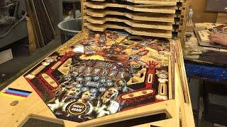 Making The Walking Dead Pinball Machine