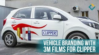 Vehicle Wrapping Process WORTH WATCHING
