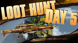 Welcome to Day 5 of the Borderlands 2 $100,000 Loot Hunt Event! Today we are after Wilhelm in the End of the Line. He will be dropping the Unique Sniper rifle the Fremingtons Edge! Once you do get the sniper the community challenge will be killing 100,000 Buzzards. Seems very difficult but I have a really good method. Thanks for Watching and Happy Looting!Loot Hunt video:http://www.youtube.com/watch?v=54oDUf0KerQHere is the link to the site so you can check it out!!! https://www.borderlands2loothunt.com/ageCheck#the-great-loot-hunt-approacheth