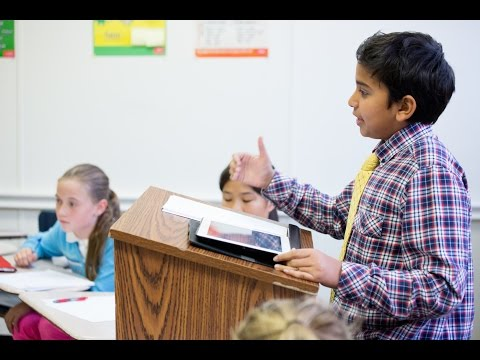 Debate in The Hun Middle School