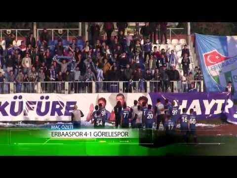 Erbaaspor 4-1 Görelespor Maç Özeti