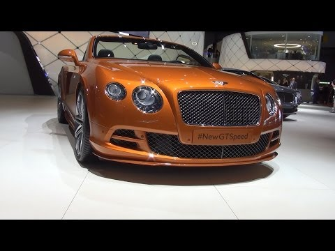 Bentley Continental GT Speed Convertible (2014) Exterior and Interior in 3D 4K UHD