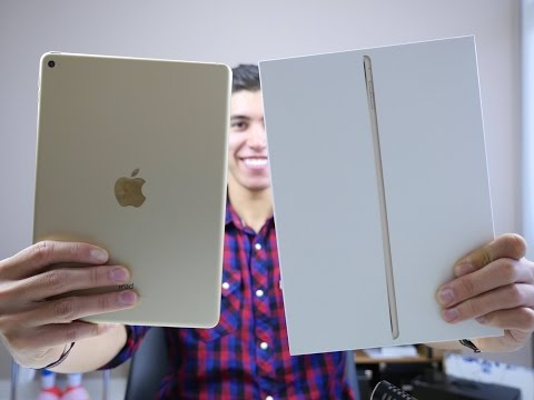 iPad Air 2 REVIEW and UNBOXING (GOLD)
