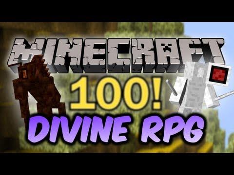 Обзор модов 100 divine rpg моды для minecraft 1 6