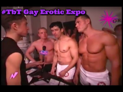 Gay Erotic Expo - #tbt with Pickles & Flloyd (видео)