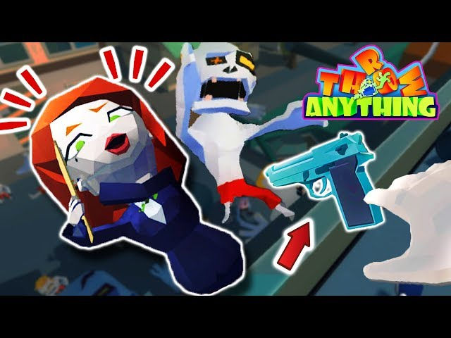 Throw Anything Early Access Gameplay - j…
