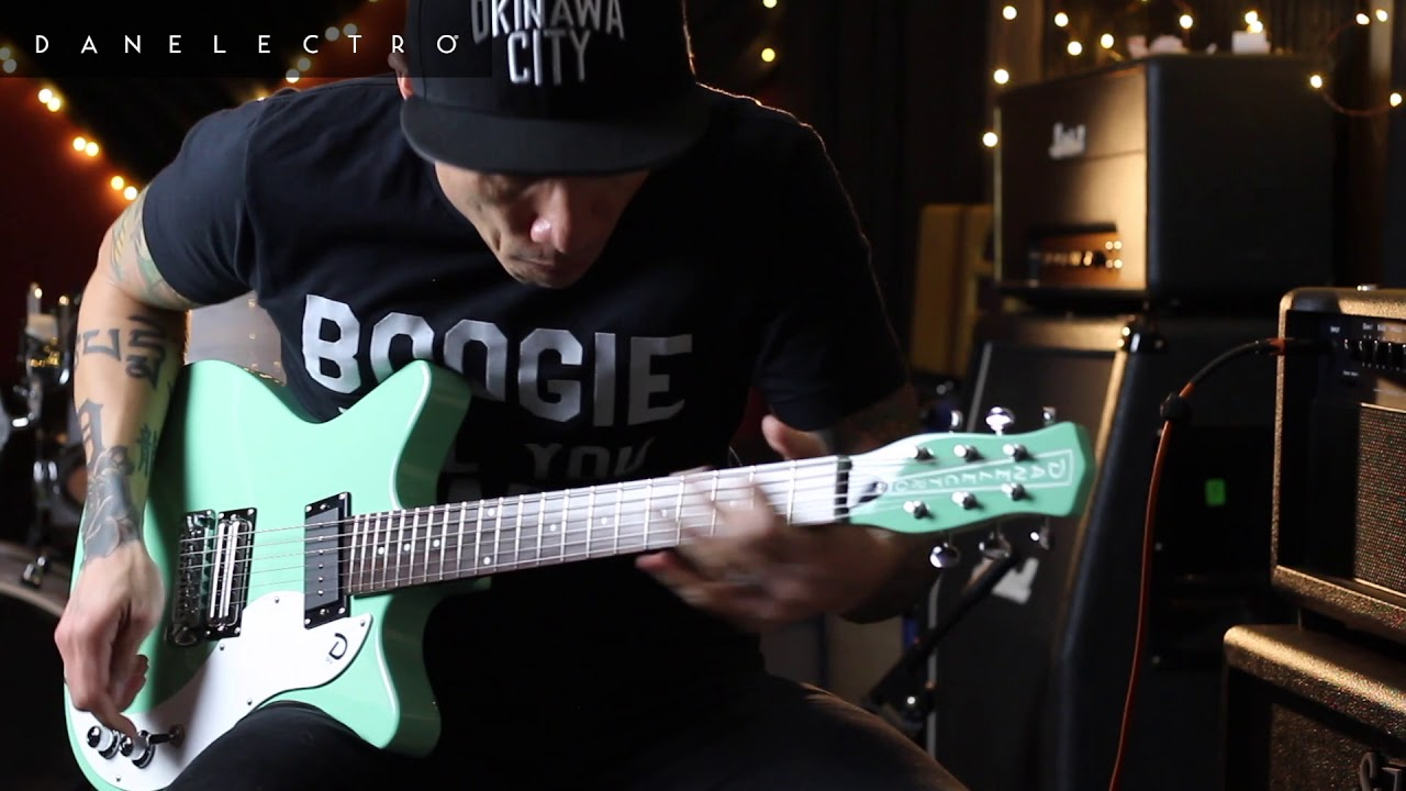 Danelectro '59X guitar demo – by RJ Ronquillo (2018)