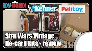 Video Star Wars vintage Re-card kits review - Toy Polloi MP3, 3GP, MP4, WEBM, AVI, FLV Juli 2018