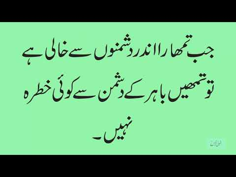 Best Quotes in Urdu/ Golden Words /Nice Quotes Collection 2019