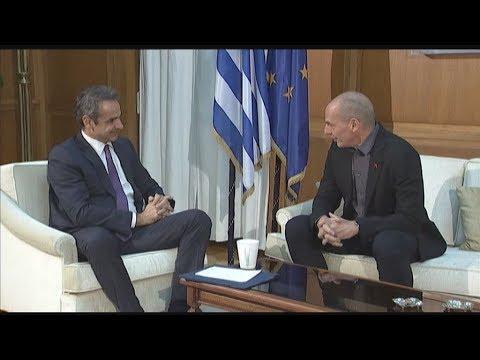 Συνάντηση του πρωθυπουργού με το Γιάνη Βαρουφάκη