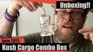 Hot & Irritated Man Tries to Dab. Or, Kush Cargo June Combo Unboxing!!  //dsativa by dsativa