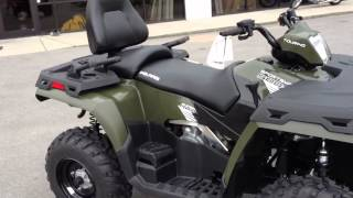 8. 2013 Polaris Sportsman 500 H.O. Touring In Sage Green At Tommy's MotorSports