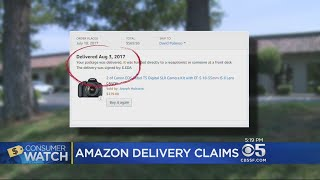 Julie Watts reports on some Amazon customers being victimized by third-party delivery scam (8-16-2017)