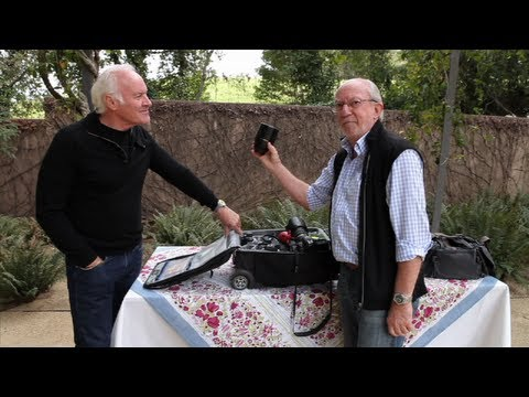 Pro Photographer Bob Holmes– What's in My bag?