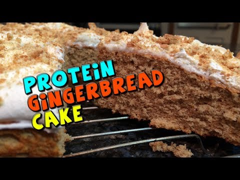 PROTEIN Gingerbread Cake Recipe (Low Fat)