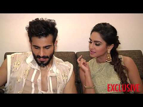 Karan Tacker and Krystle Dsouza receive gifts from