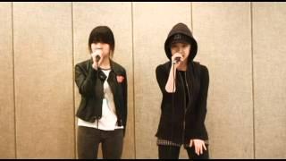 YG Trainee - Kim Eunbi & Euna Kim Practice Clip