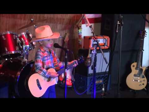 If George Strait Is the King of Country, Then This 4 Yr Old Just Might Be The Prince of Country!