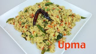 Learn how to make Upma, fast and tasty. Upma or Uppuma is a South Indian breakfast dish. There are many different methods of preparing Upma. My recipe is qui...