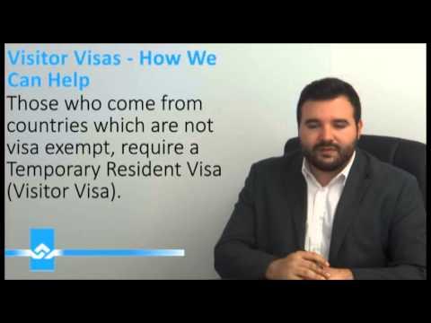 Applying for a Visitor Visa Application Video