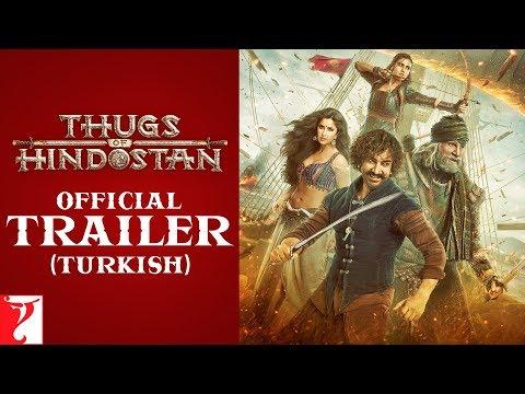 Turkish: Thugs Of Hindostan Trailer | Amitabh Bachchan | Aamir Khan | Katrina Kaif | Fatima