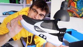 LE NUOVE SCARPE CHE SI ALLACCIANO DA SOLE (unboxing Nike Adapt BB)