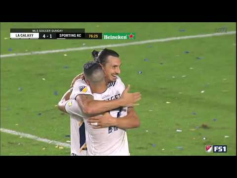 Video: GOAL: Sebastian Lletget finds the back of the net in LA Galaxy rout