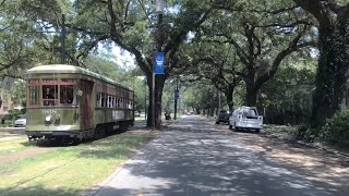 New Orleans (LA) United States  City new picture : Driving Downtown - World's Oldest Streetcar Line - New Orleans USA