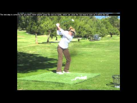 Daily Golf Tips/Golf Lessons For Beginners – Golf Correcting A Slice When Driving – Day 3