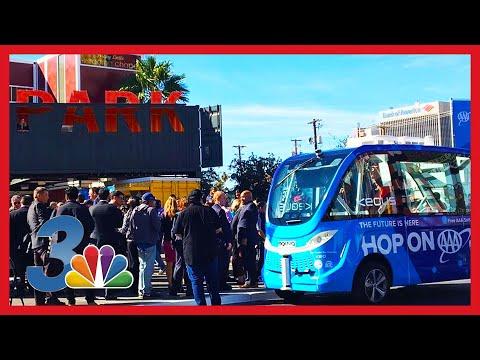 """האוטובוס הציבורי האוטונומי הראשון בארה""""ב היה מעורב בתאונה"""