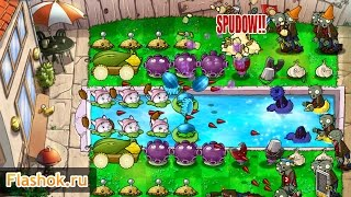 Видеообзор Plants vs Zombies
