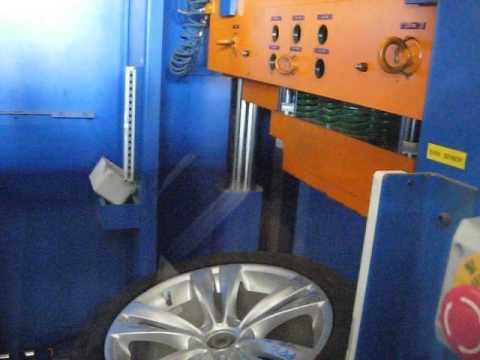 Тест дисков реплика WSP Italy W673 NEPTUNE на удар спицы (BMW)